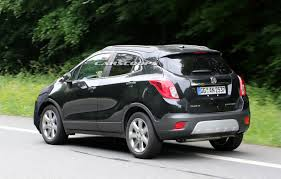 buick opel we spied gm testing facelifted buick encore and opel vauxhall mokka