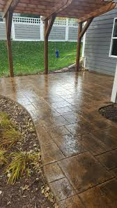 Seamless Stamped Concrete Pictures by 55 Best Stamped Concrete Patios Images On Pinterest Stamped