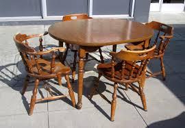 uhuru furniture u0026 collectibles sold early american table u0026 4