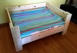 diy wooden pallets dog bed plan wood pallet furniture