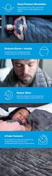 gravity the weighted blanket for sleep stress and anxiety by