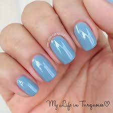 my life in turquoise nail polish review essie winter 2013