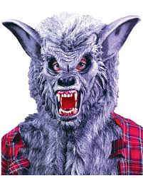 halloween costumes werewolf a252 deluxe wolf man werewolf halloween mask scary costume