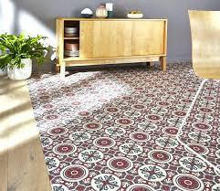 vinyle cuisine sol vinyle carreau de ciment tapis de cuisine au metre sol vinyle