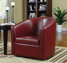 Swivel Leather Chairs Living Room Design Ideas Swivel Leather Accent Chairs For Living Room Elegance Leather