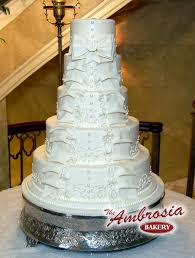 wedding cake new orleans the ambrosia bakery wedding cake baton la weddingwire