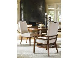 tommy bahama home island fusion meridien round dining table with