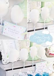 cotton candy wedding favor favorite detail cotton candy clouds hostess with the mostess