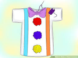 Clown Costumes How To Make A Clown Costume 13 Steps With Pictures Wikihow