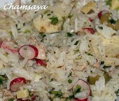 cuisine salade de riz recette de salade de riz au thon radis et coeur de palmier