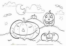 halloween pumpkins worksheet education