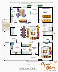 Triplex House Plans Bungalow House Design With Swimming Pool Apnaghar House Design
