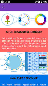 Human Color Blindness Color Blindness Checker Android Apps On Google Play