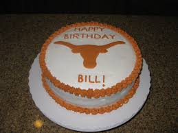 texas longhorns birthday cake kellies cakes flickr