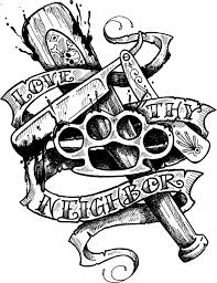 gangsta coloring pages 27 best cartoon gangster tattoo designs images on pinterest
