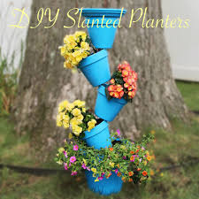 these diy slanted planter is the best summer project planters