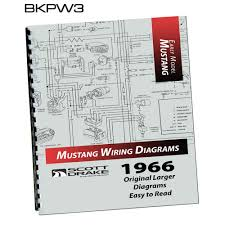 scott drake mp 2 p mustang pro wiring manual large format 1966