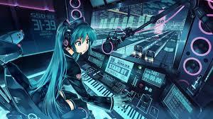 anime music girl wallpaper anime music girl hq desktop wallpaper 21395 baltana