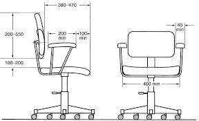 Ergonomic Office Chairs Dimension 14 Desk Chair Dimensions Carehouse Info