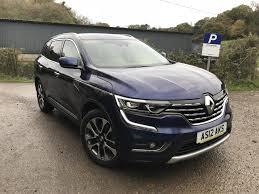renault koleos used 2017 renault koleos signature nav dci for sale in somerset