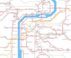 Prague Metro Map by Urbanrail Net U003e Europe U003e Czech Republic U003e Prague Praha Tram