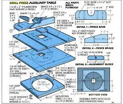 Free Diy Router Table Plans by Turn Your Drill Press Into A Router 8 Free Plans Stuff