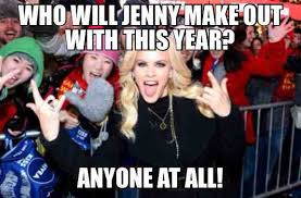 Slutty Girl Meme - jenny mccarthy is the slutty girl at the new year s eve party x post
