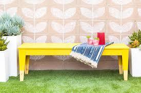ikea bench hack diy paint dipped ikea nornäs outdoor bench sarah hearts