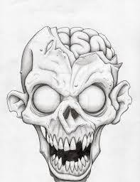 scary halloween drawings great idea with the pumpkins love it