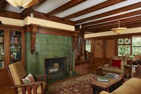 Arts And Crafts Living Room by An Arts And Crafts Revival On Lake Minnetonka Startribune Com