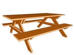 Make A Picnic Table Free Plans by Picnic Table Design 101 All Things Hannah Pinterest Picnic
