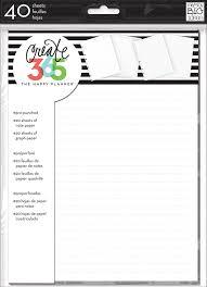 Kitchen Design Graph Paper Amazon Com Me U0026 My Big Ideas Create 365 The Happy Planner Note