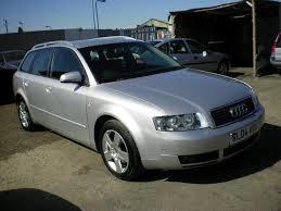 audi a4 2004 silver used audi a4 2004 diesel 1 9 tdi 130 se estate silver automatic