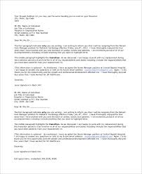 sample best letter of resignation 9 examples in word pdf