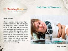Feeling Light Headed Early Signs Of Pregnancy 6 638 Jpg Cb U003d1452858556