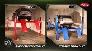 4 post lift comparison shockwave vs standard youtube