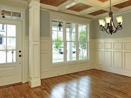 craftsman style flooring half wall with column design pictures remodel decor and ideas