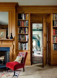 creating a chic cosy home library best colors lighting and