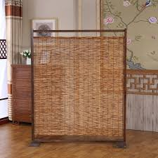Portable Room Divider Shop Decorative Wood Bamboo Room Divider Screen Bamboo