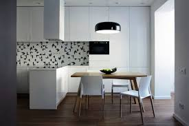 Apartment Kitchen Cabinets by Small Apartment Kitchen With L Shaped Cabinets Also Apron Sink