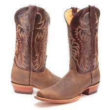 square toe mens cowboy boots pfi western