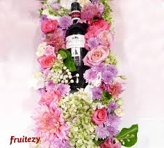 flowers arrangement ezy flowers arrangement with wine house selection fruitezy