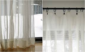 How To Sew Curtains With Rings Diy