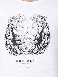 lion print buy lion print t shirt for men men u0027s white t shirts online in india