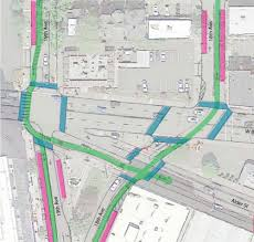 Portland Light Rail Map by City Of Portland Considering Protected Intersections Bike Only