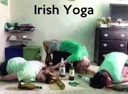 Drunk Yoga Meme - funny irish yoga pictures dose of funny