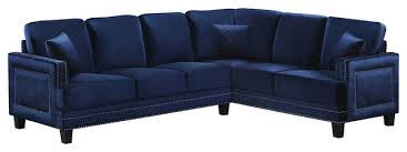 Navy Sectional Sofa Sectional Sofa Design Amazing Navy Blue Leather Intended For Decor