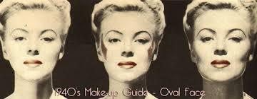 vintage 1940 u0027s beauty secrets u2013 hair and face contour glamourdaze