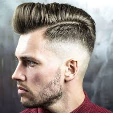 skin fade comb over hairstyle 35 popular haircuts for men 2018 skin fade pompadour high skin