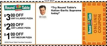 round table pizza coupons 25 off round table discount code ebook